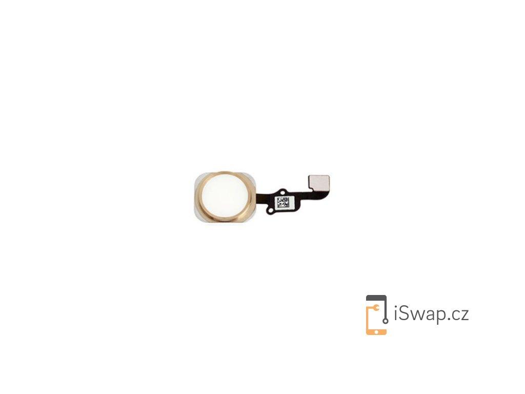 Domácí tlačítko pro Apple iPhone 6S/6S+ zlatý