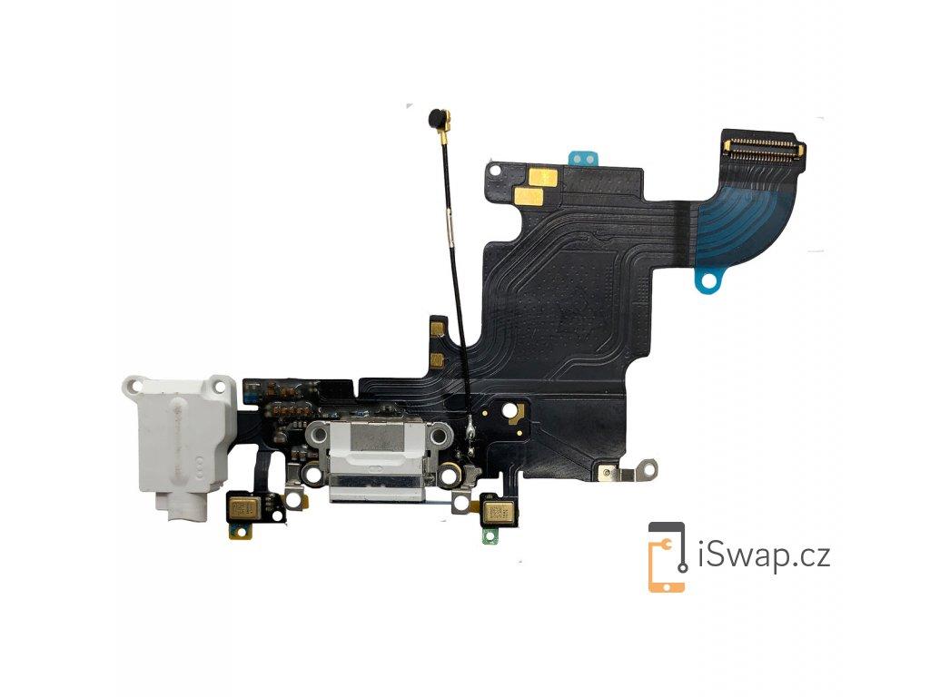 Nabíjecí konektor bílý pro Apple iPhone 6S