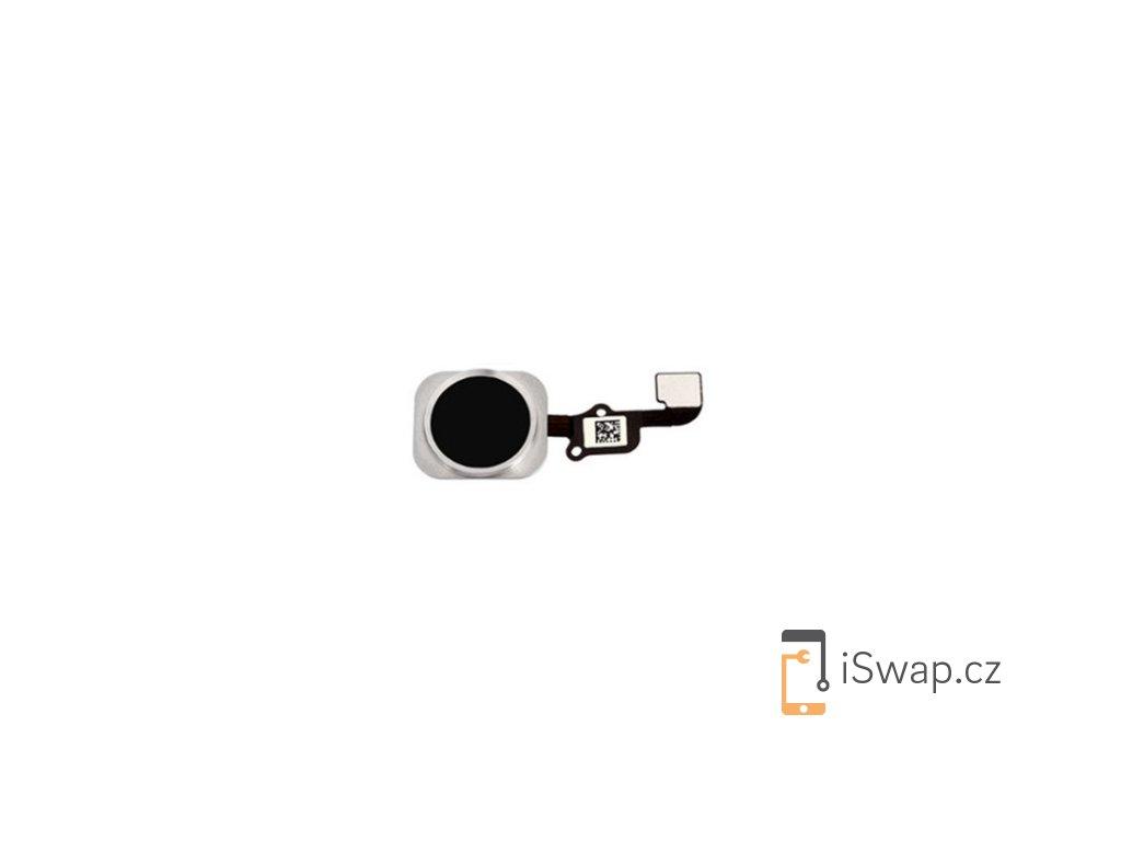 Domácí tlačítko černé pro Apple iPhone 6S/6S+