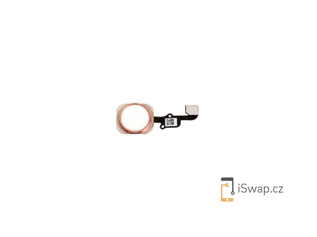 Domácí tlačítko Rose Gold pro Apple iPhone 6S/6S+