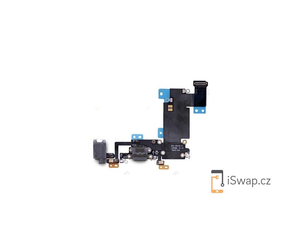 Nabíjecí konektor pro Apple iPhone 6S Plus šedý