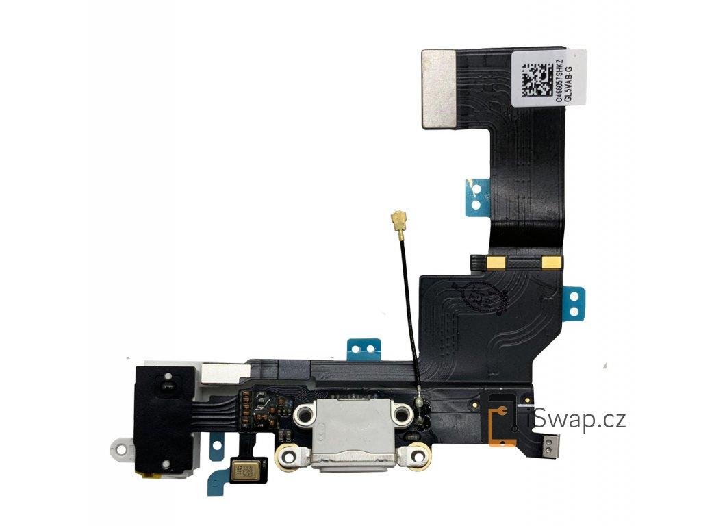 Nabíjecí konektor pro Apple iPhone SE bílý