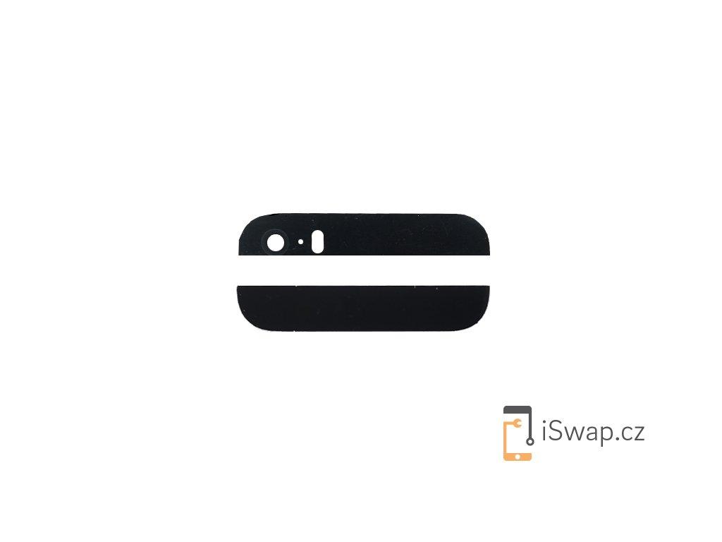 Zadní sklíčka krytu pro Apple iPhone 5S/SE černý