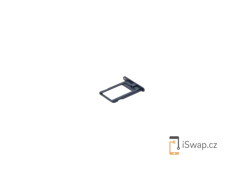 SIM šuplík šedý pro Apple iPhone 5S/SE