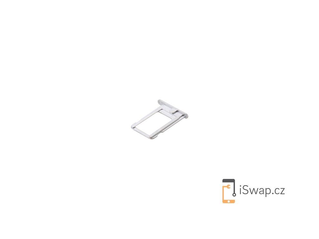 SIM šuplík stříbrný pro Apple iPhone 5S/SE.
