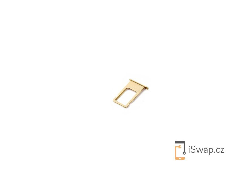 SIM šuplík zlatý pro Apple iPhone 6