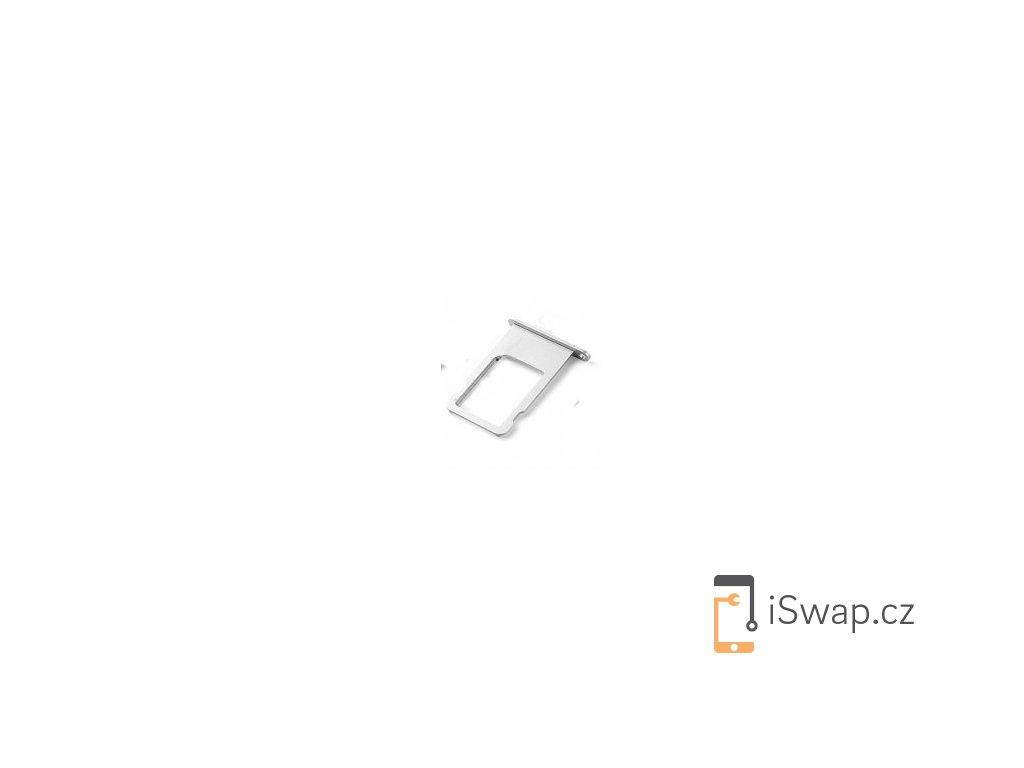 SIM šuplík stříbrný pro Apple iPhone 6