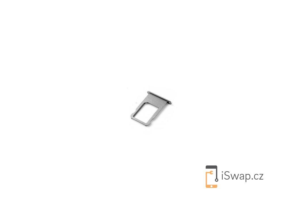 SIM šuplík šedý pro Apple iPhone 6
