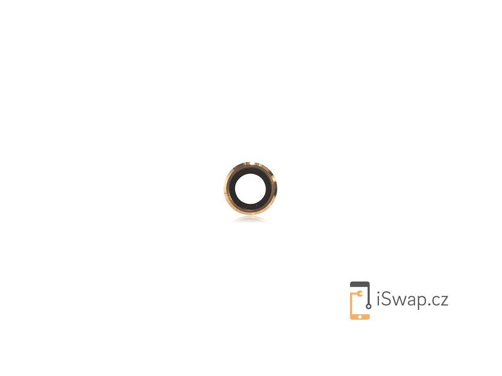 Sklíčko fotoaparátu pro Apple iPhone 6/6S zlatý