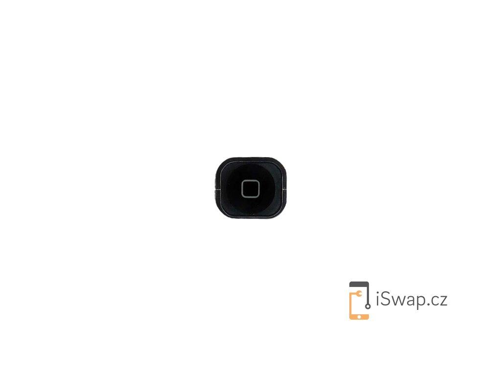 Čepička domácího tlačítka pro Apple iPhone 5 černý