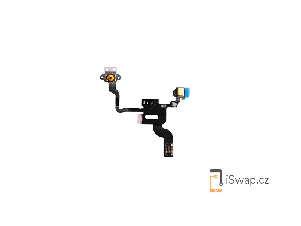 Flex kabel s zapínacím tlačítkem pro Apple iPhone 4
