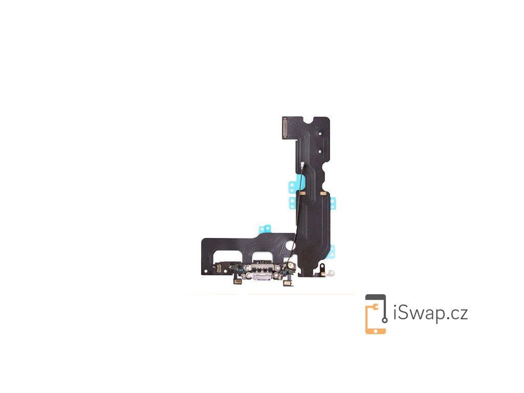 Nabíjecí konektor bílý pro Apple iPhone 7 Plus