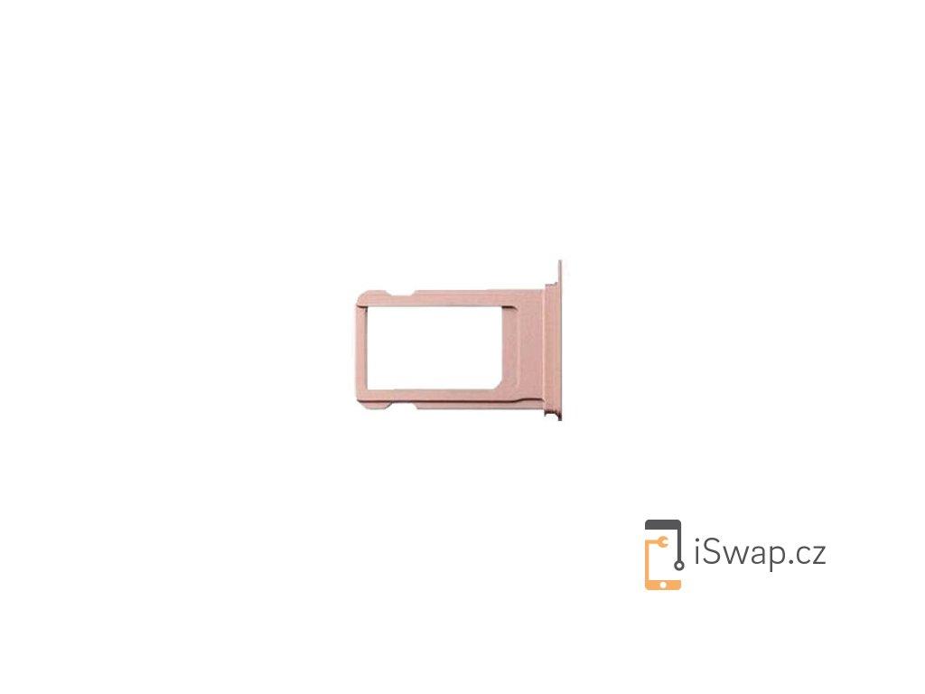 SIM šuplík růžový pro Apple iPhone 7
