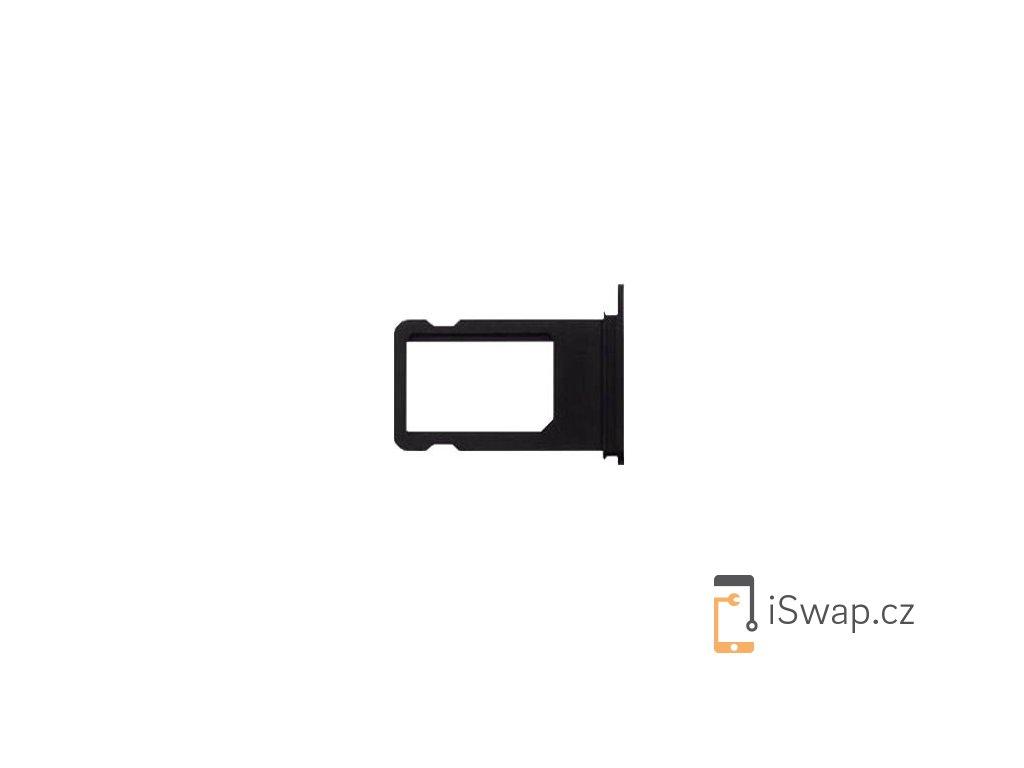 SIM šuplík černý lesklý pro Apple iPhone 7
