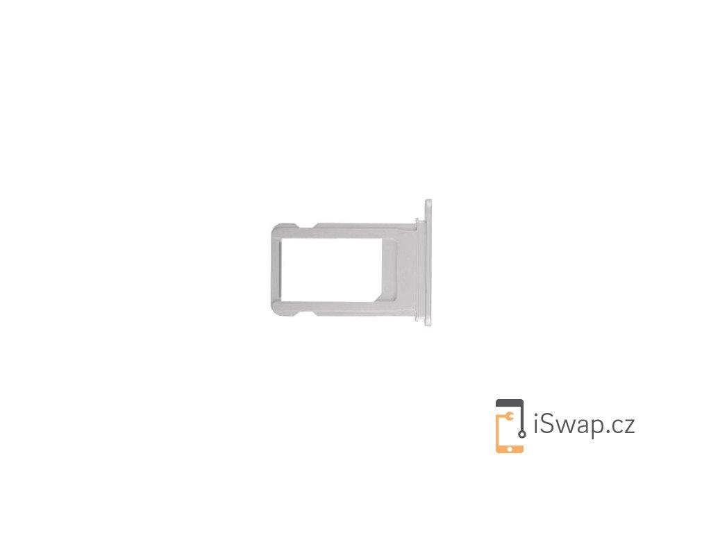 SIM šuplík stříbrný pro Apple iPhone 8