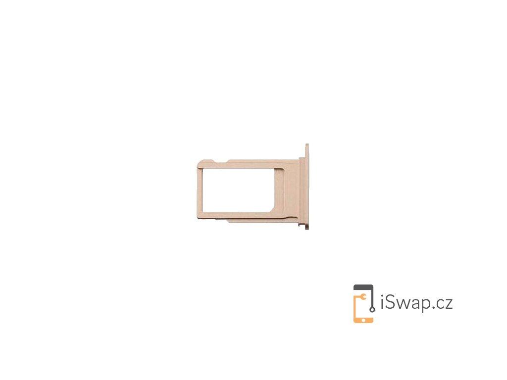 SIM šuplík zlatý pro Apple iPhone 8