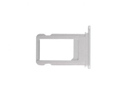SIM šuplík stříbrný pro Apple iPhone X
