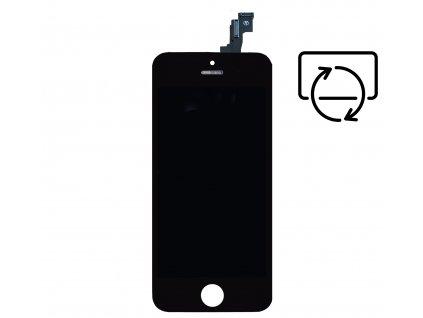 LCD displej černý PREMIUM pro Apple iPhone 5S/SE