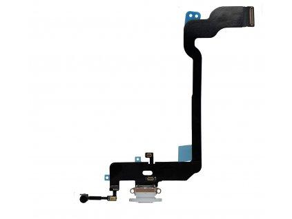 Nabíjecí konektor bílý pro Apple iPhone Xs