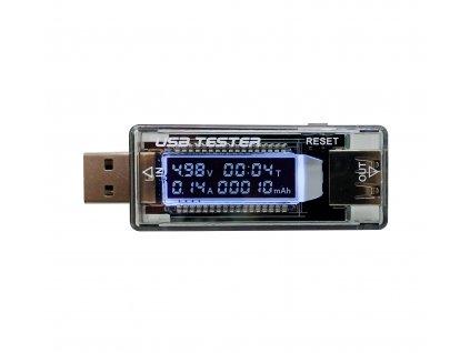 USB měřič - voltmetr a ampérmetr