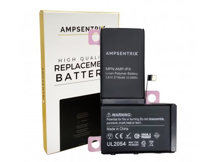 Náhradní baterie Ampsentrix pro iPhone X.