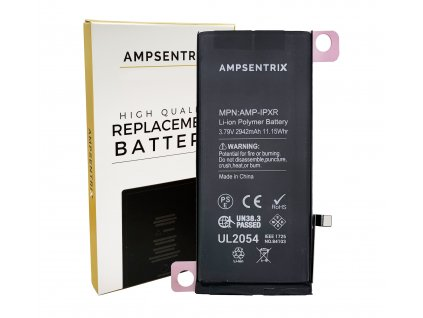Náhradní baterie Ampsentrix pro iPhone XR.