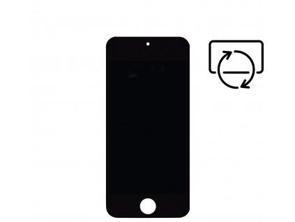 Náhradní LCD displej pro Apple iPod Touch černý.