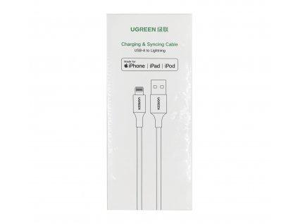 Ugreen nabíjecí lightning kabel pro iPhone, 2m.