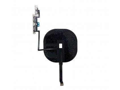 Cívka bezdrátového nabíjení a flex kabel s tlačítky hlasitosti pro iPhone 11 Pro Max