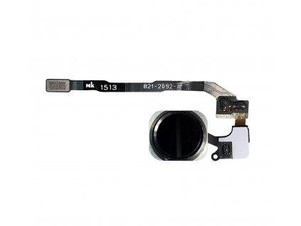 Flex kabel domácího tlačítka pro Apple iPhone 5S/SE černý