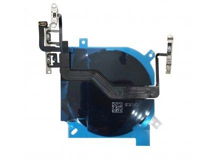 Cívka bezdrátového nabíjení a flex kabel s tlačítky pro iPhone 12