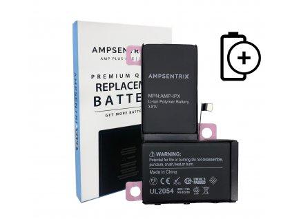 Ampsentrix Plus baterie 2960 mAh pro iPhone X