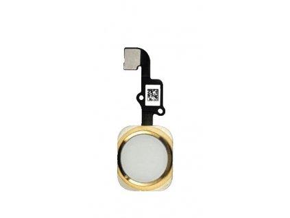 Náhradní domácí tlačítko pro Apple iPhone 6 a 6 Plus zlatý