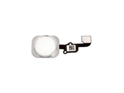 Domácí tlačítko stříbrné pro Apple iPhone 6S/6S+