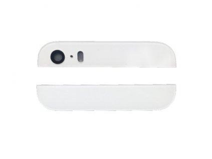 Zadní sklíčka krytu pro Apple iPhone 5S/SE bílý