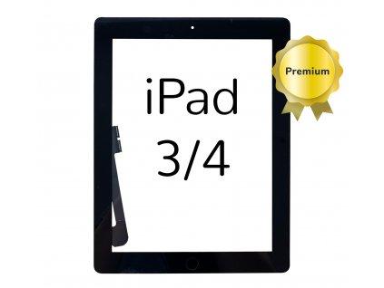 Digitizer PREMIUM pro Apple iPad 3 a 4 černý