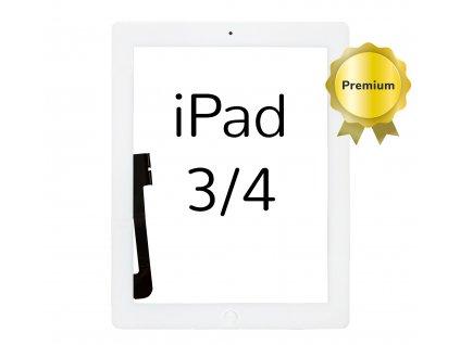 Digitizer iFixit bílý pro Apple iPad 3 a 4