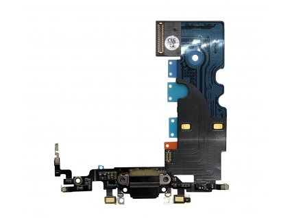 Nabíjecí konektor černý pro Apple iPhone 8