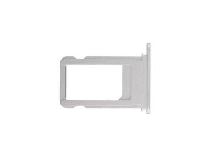 SIM šuplík stříbrný pro Apple iPhone 8 Plus