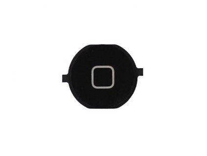 Plastová čepička domácího tlačítka černá