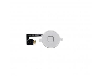 Sada domácího tlačítka pro Apple iPhone 4 White