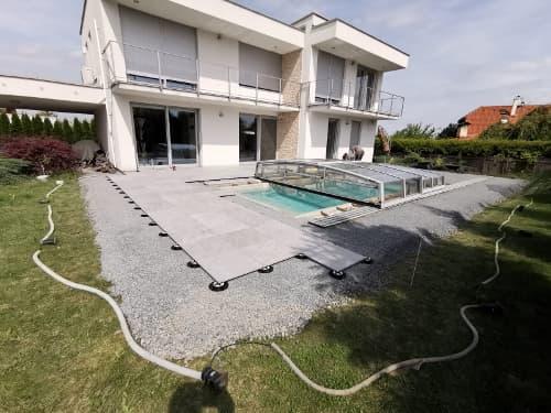 Podložky pod dlažbu k Vašemu novému bazénu.