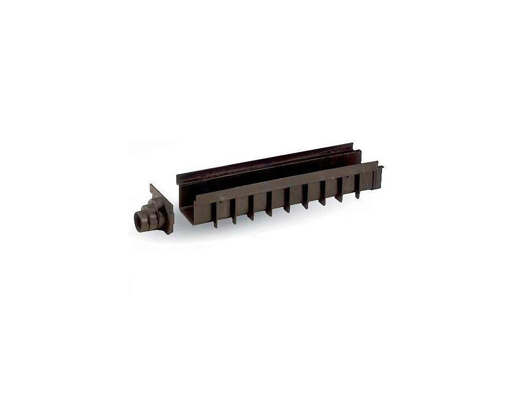 Žlab SPECIÁL PP 130x500 H100 - černý