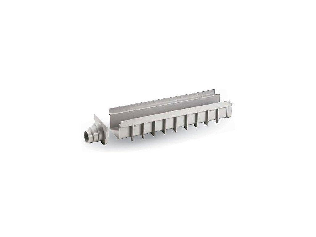 Žlab SPECIÁL PP 130x500 H100 - šedý