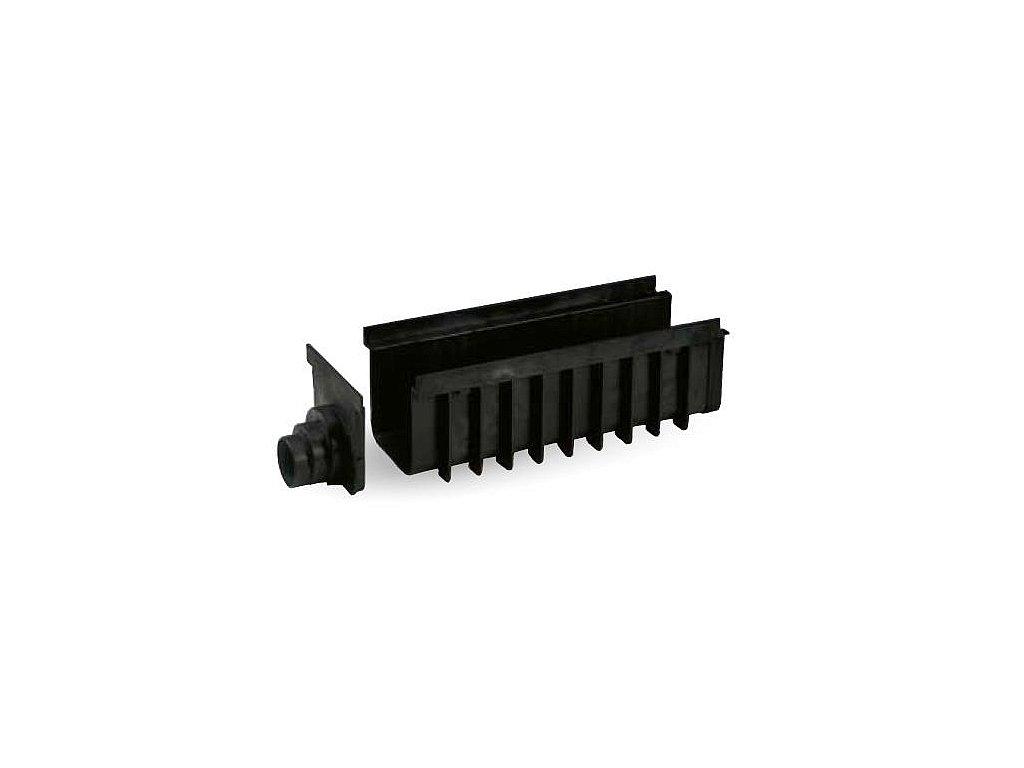 Žlab SPECIÁL PP 200x500 H185 - černý
