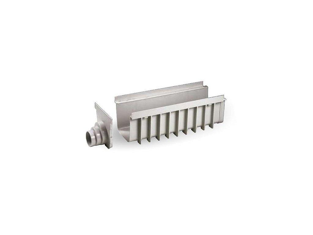 Žlab SPECIÁL PP 200x500 H185 - šedý
