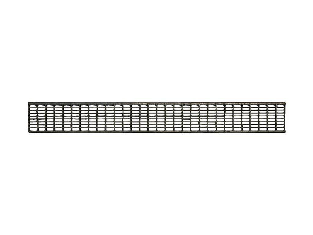 Mříž pozink B125 130X1000
