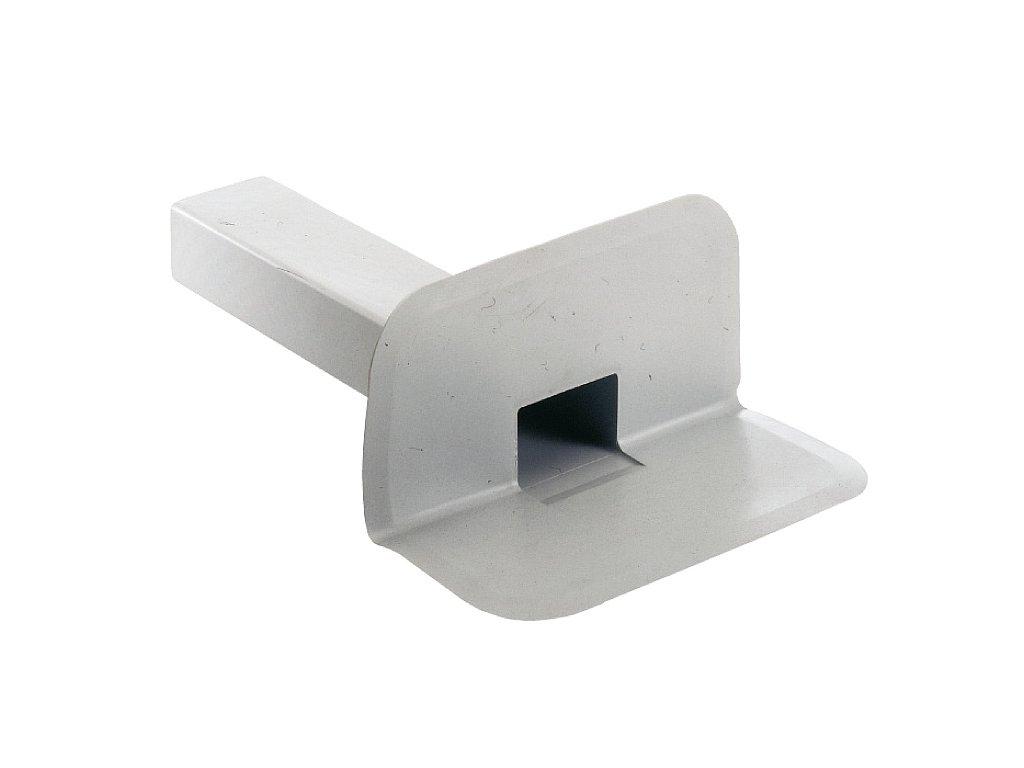 Boční střešní vpusť PVC 100x65 90°