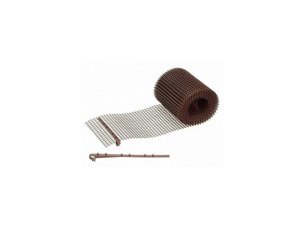 Ochranná mřížka žlabu 18 cm
