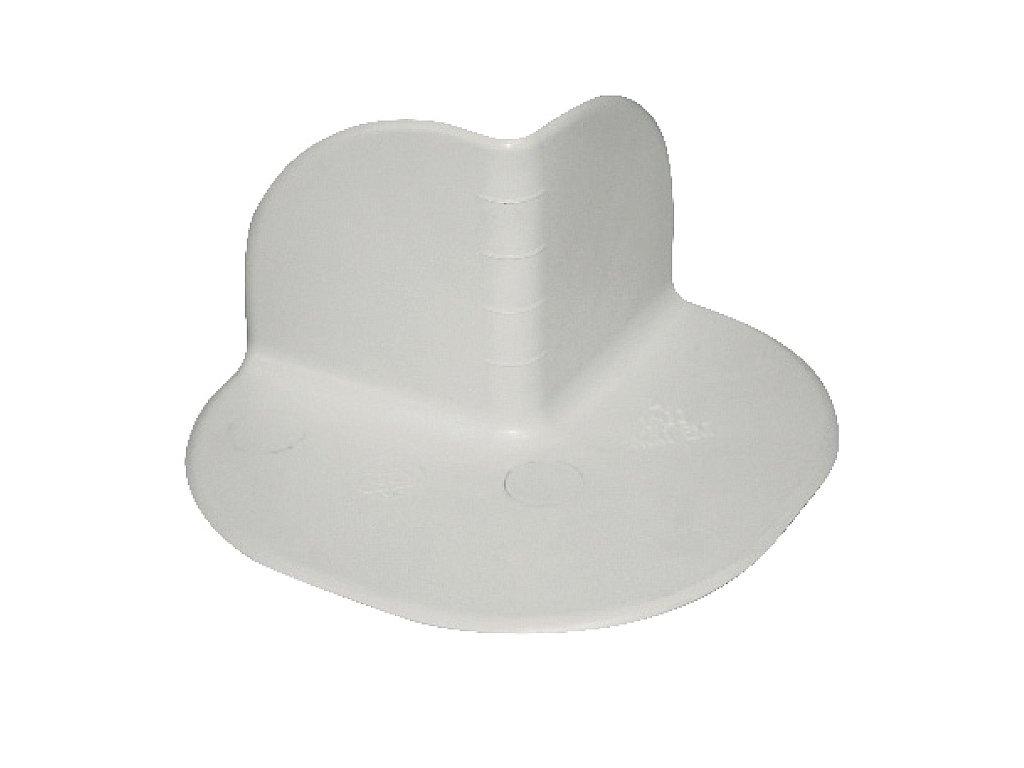 Tvarovka rohu PVC mini - vnější